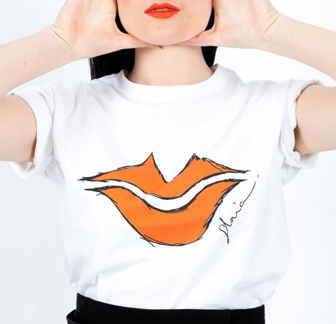Arty Gloria Balensi T-shirt in front