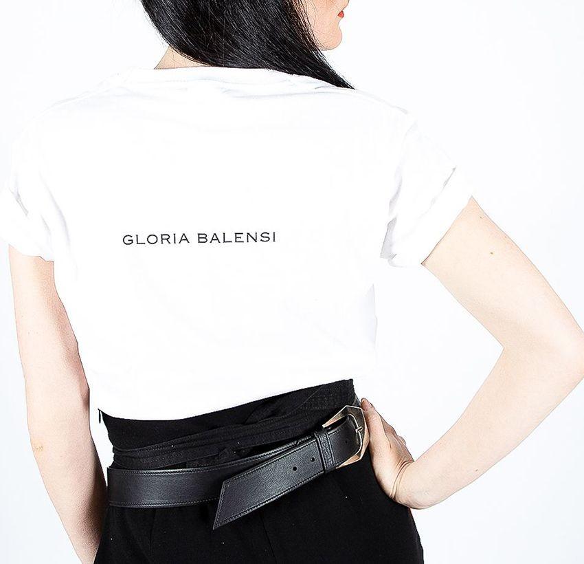 Arty Gloria Balensi back T-shirt