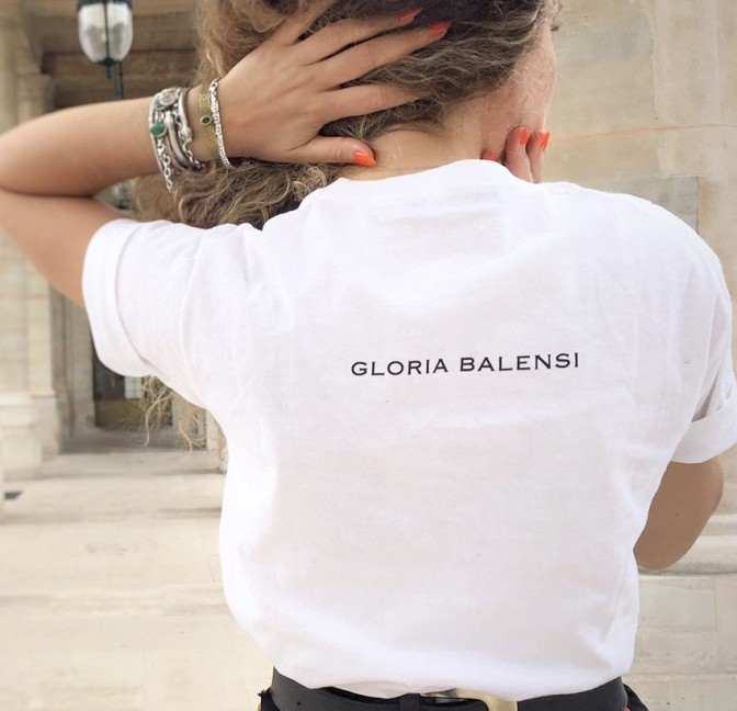 Arty Gloria Balensi T-shirt back view n°2