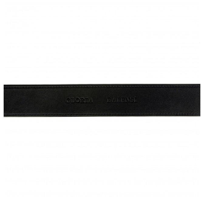 GLORIA BALENSI calfskin leather women's belt, strap view