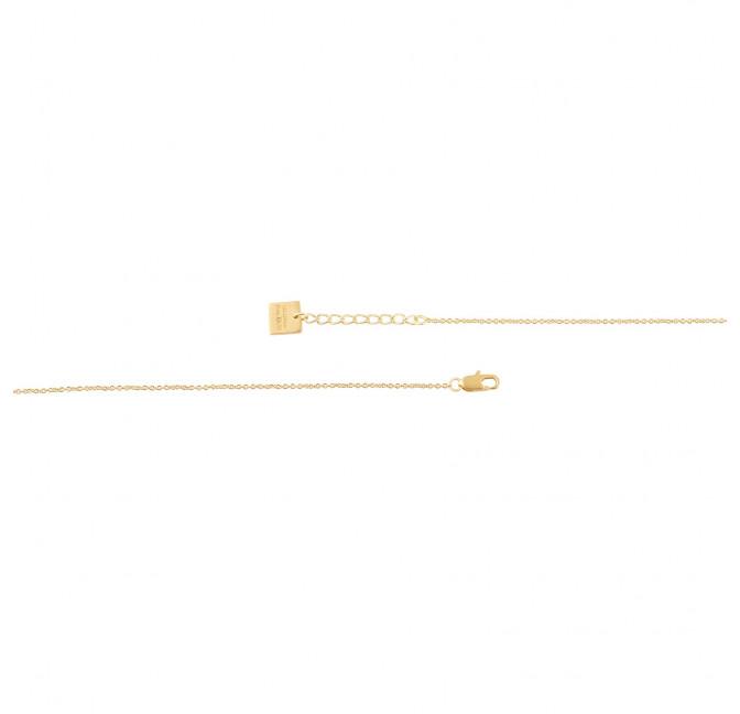 Collier chaîne HÉRA avec lapis lazuli, vue fermoir   Gloria Balensi
