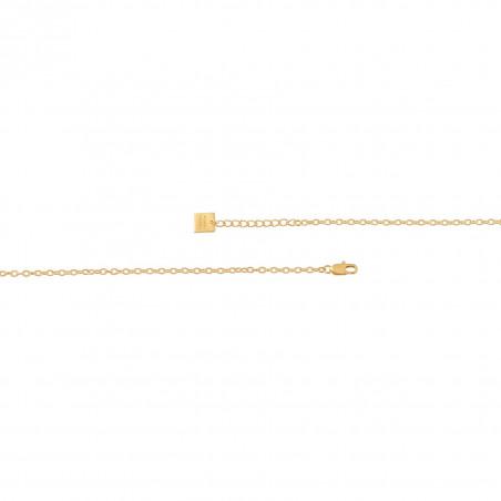 VENUS chain necklace with Lapis lazuli, clasp view   Gloria Balensi